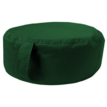 1321f914cf4b Große Runde Boden Sitzkissen in Grün, Toll für Drinnen und Draußen, Aus  qualitativ hochwertigem Wasserfestem Material