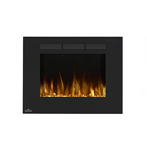 Napoleon NEFL32FH Linear Wall Mount Electric Fireplace, 32