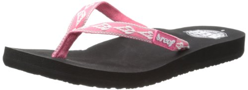 Reef Women's Ginger 30 Years Flip Flop,Hot Pink/White,6 M US