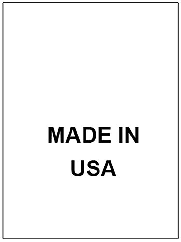 100 PRINTED CLOTHING LABELS, Care Labels ( Made in USA)