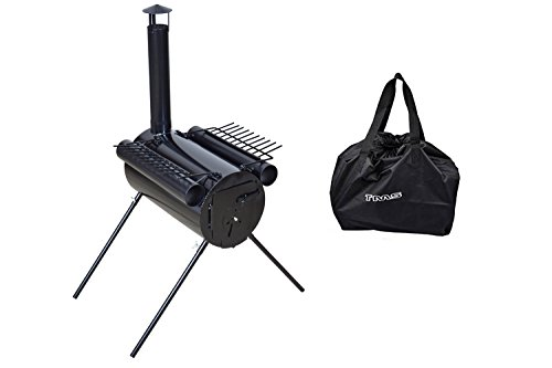 TMS Portable Military Camping Hunting Ice Fishing Cook Wood Stove Tent Heater w/ Bag (Cook Stove For Camping compare prices)