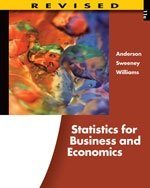 Statistics for Business and Economics,11th Edition