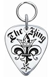 Rockinft Doggie 844587000011 The King Sterling Silver Guitar Pick Tag