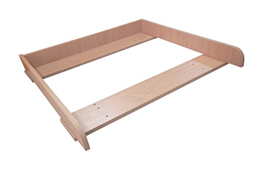 polini kids wickelaufsatz f r kommode malm ikea buche. Black Bedroom Furniture Sets. Home Design Ideas
