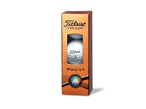 Titleist Pro V1 Golfbälle 3-Stück weiß white