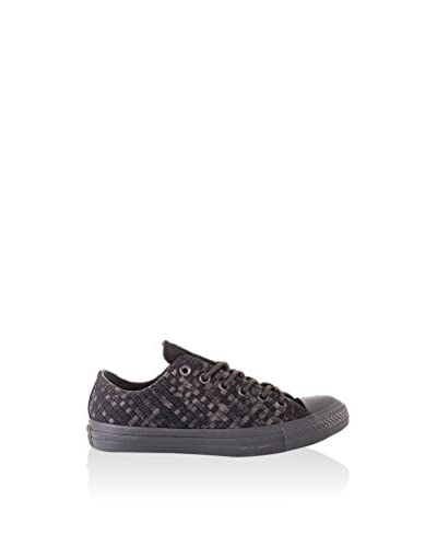 Converse Sneaker Chuck Taylor All Star Denim Woven Ox anthrazit/schwarz