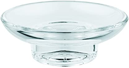 Grohe 40 368 000 Essentials Soap Dish, Clear Glass