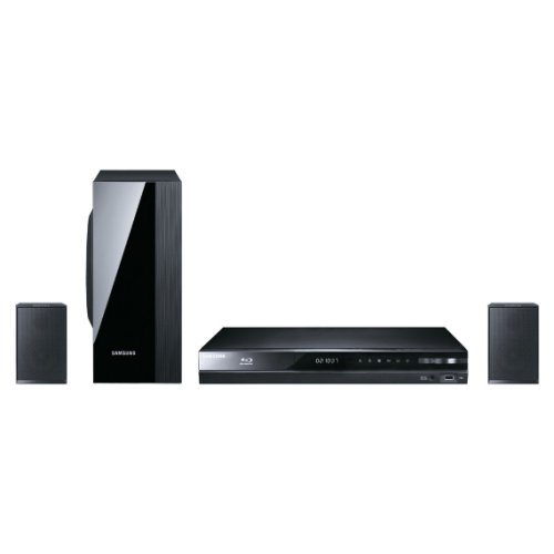 Samsung HT-D4200/EN 2.1 Blu-ray-Heimkinosystem (500 Watt, Allshare, WLAN ready, DLNA, USB 2.0) schwarz