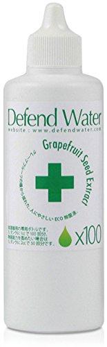 加湿器内部に発生するカビ菌とバイ菌を除菌。タンクに加えるだけの天然エコ除菌液「ディフェンドウォーター」 100回分(お得用)