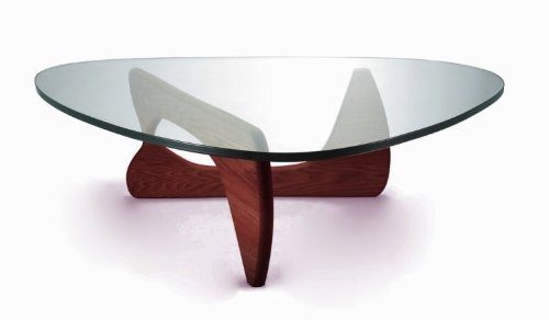 Kirch GEF-222 WALNUT Noguchi Tribeca Coffee Table