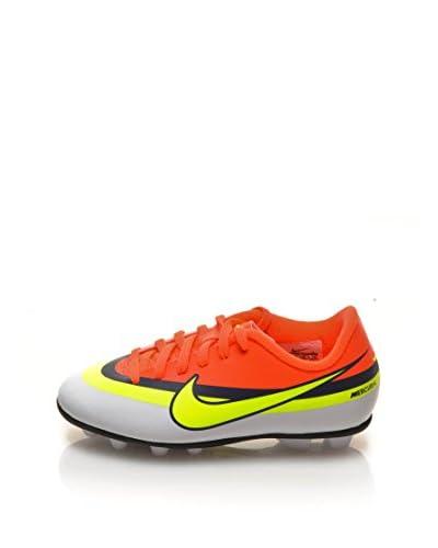 Nike Sneakers Jr Mercurial Vortex Cr Fg-R [Bianco/Arancio/Giallo]