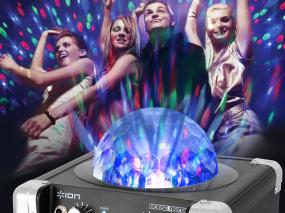 ION House Party Bluetooth-Enabled Bluetooth speaker wireless speaker system dj lighting party lights party lighting karaoke speaker