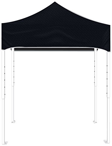 Kd Kanopy Ps64K Party Shade Steel Frame Indoor/Outdoor Portable Canopy, 8 By 8-Feet, Black