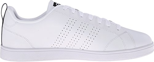 Adidas NEO Women's Advantage Clean VS W Casual Sneaker,White/White/Black,11 M US