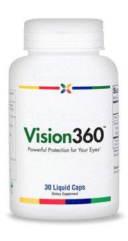 Vision360® 1-A-Day Vision Support Complex | 30 Liquid Capsules. Made In Usa (3 Pack ($22.95 Per Bottle))