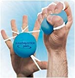 31YIphzGgsL. SL160  Handmaster Plus Soft Hand Exceriser, Blue with Yellow Provides a Hand Exercise That Increase Grip Strength Maximally As Is Strengthens All 18 Hand Muscles (Nine the Close the Hand and Nine That Open It)