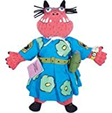 "THE LIBRARIAN FROM THE BLACK LAGOON MRS. BEAMSTER 12"" PLUSH PUPPET Character By Mike Thaler"