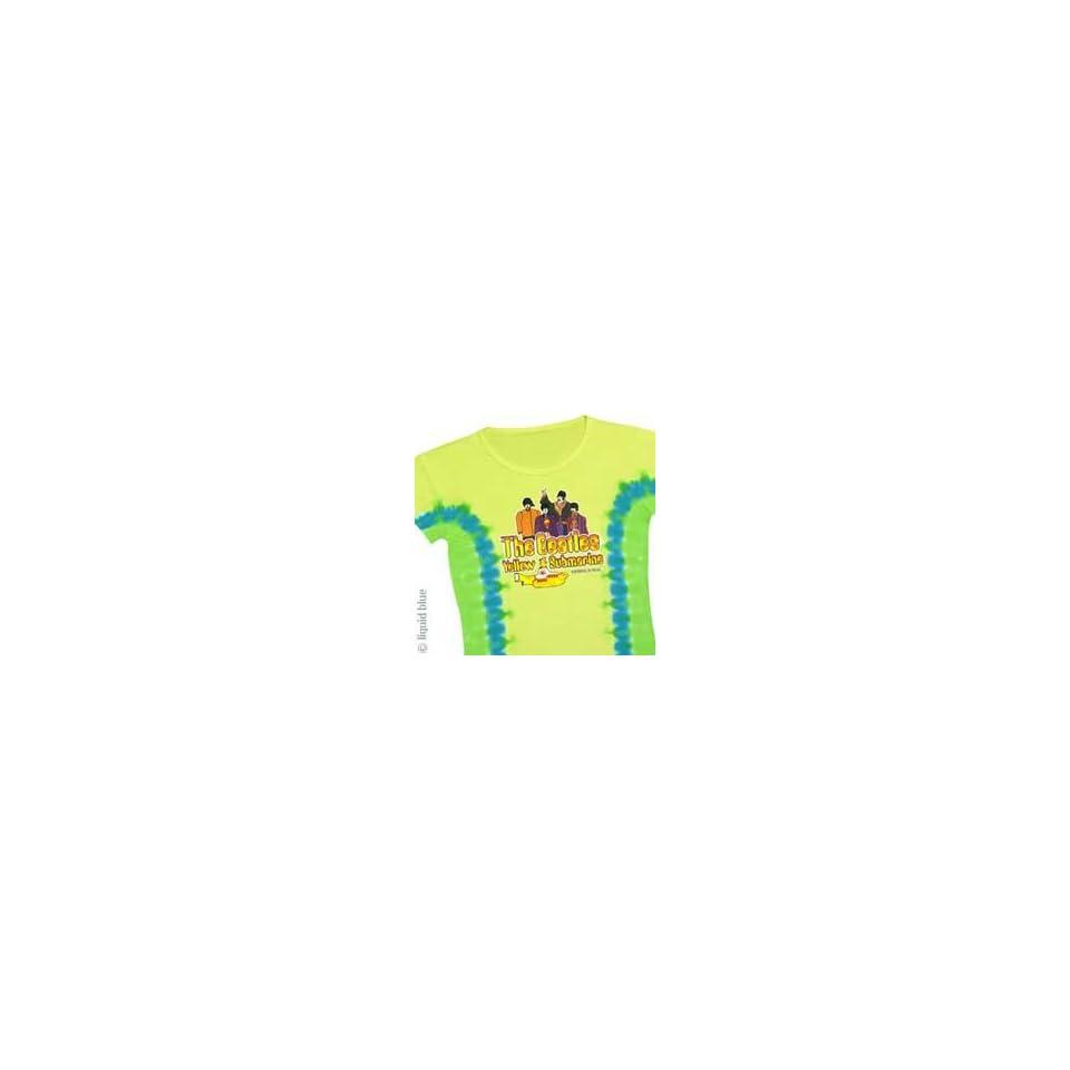 Beatles Yellow Submarine Girls Xl Baby Doll T shirt