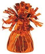 Orange Foil Balloon Weight - 170G/6Oz front-1051963