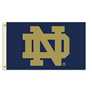 NCAA Notre Dame Fighting Irish 3-by-5 Foot Flag With Grommets