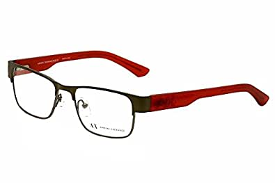 Armani Glasses Frames Boots : Amazon.com: Armani Exchange AX 1012 Mens Eyeglasses: Shoes
