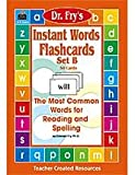 img - for Instant Words Flashcards (Dr. Fry's Instant Words, Set B) book / textbook / text book