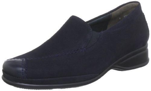 Semler  R1635-402-572,  Mocassini donna, Blu (Blau (marine-ocean 572)), 44