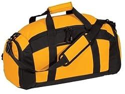 Port & Company Gym Bag, Gold
