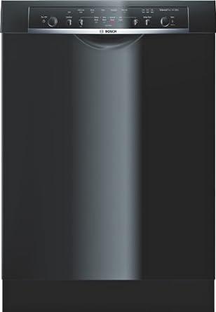 """Bosch SHE3AR56UC Ascenta 24"""" Black Full Console Dishwasher - Energy Star"""