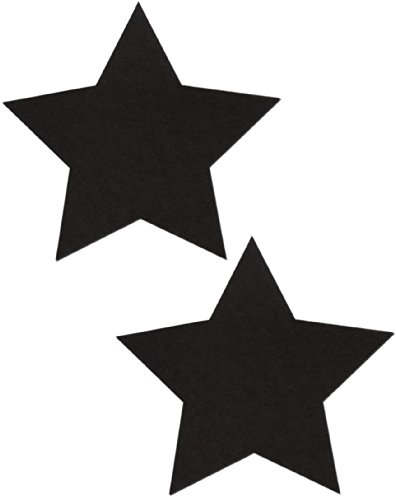 Black Star Nipple Pasties By Pastease O/S