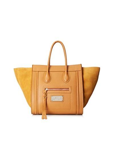 Valentino Bag by Mario Valentino Women's Cynthia Satchel, Whiskey