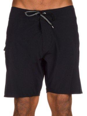 Volcom Lido Solid Mod 18-Costume da bagno da uomo NERO nero 32