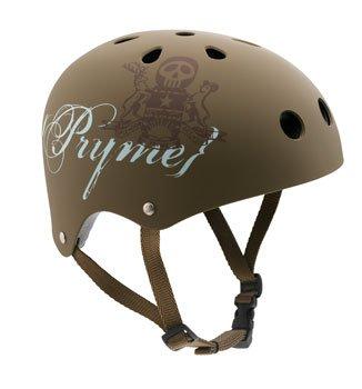 Buy Low Price 2008 Pryme 8 BMX/Skate Helmet Brown Crest TAT2 X-Large 136450 (B0018QQ10I)