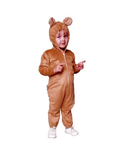 Infant Baby Teddy Bear Costume Size Infant (1-2)