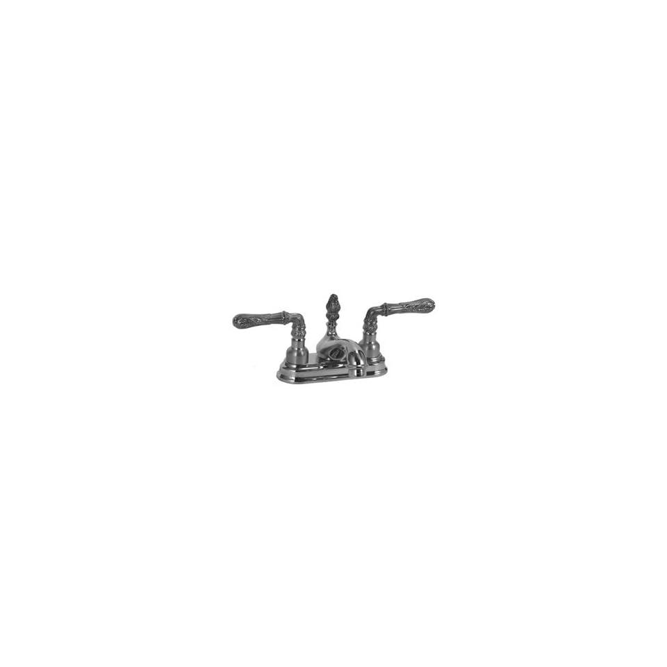 Legacy Brass CS 1445 Polished Chrome Bathroom Sink Faucets 4 Minispread Centerset Lav Faucet