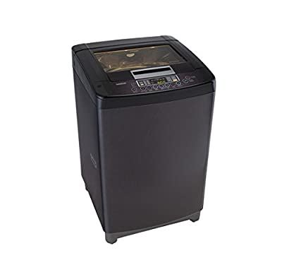 LG T8067TEELK Fully-automatic Top-loading Washing Machine (7 Kg, Black Knight)