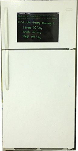 Command Prompt Magnetic Dry-Erase Whiteboard; Gift for Geeky Computer Nerds, Tech Geeks, Nerdy Programmers