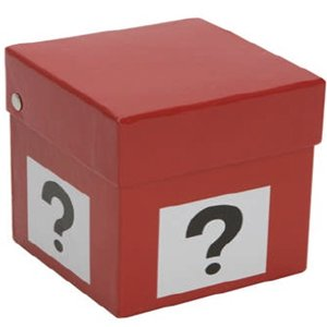 4 Quot 10cm Mystery Deal Or No Deal Question Mark Gift Box