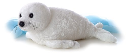 Snow Seal Flopsie - 12""