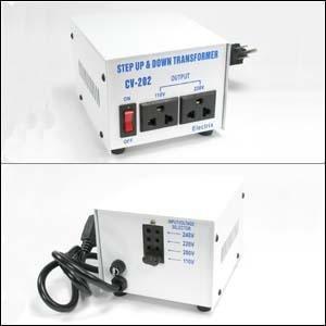 InstallerParts AC Step Up / Step Down Voltage Transformer 500 Watt (1000W Peak) -- 110 / 120 / 220 / 240 Volt -- Fused