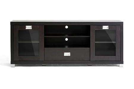 Wholesale Interiors Matlock TV Stand with Glass Doors