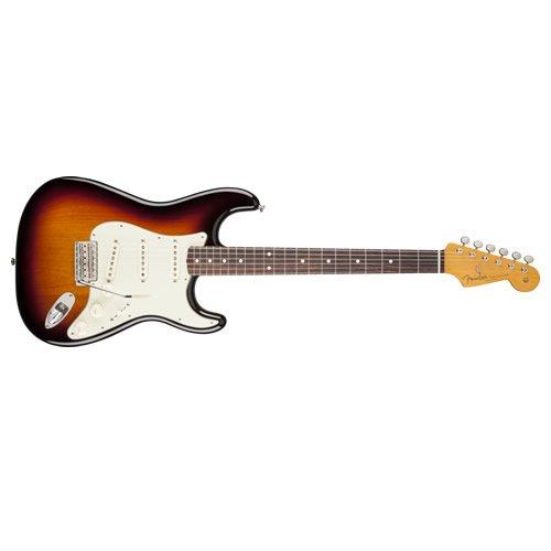 fender classic 60 39 s stratocaster electric guitar rosewood fingerboard 3 tone sunburst lacquer. Black Bedroom Furniture Sets. Home Design Ideas