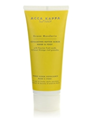 Acca Kappa Green Mandarin Hand & Foot Scrub 100ml