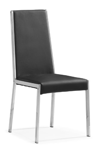 4 Ink Dining Chairs (Black)