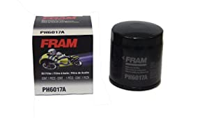 Fram PH6017A Motorcycle Oil Filter