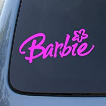 BARBIE - Vinyl Decal Sticker #A1467 | Vinyl Color: Pink