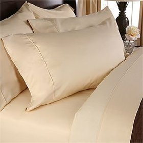 Opulent 1200 Thread Count 100/% Cotton Solid Bed Sheet Set