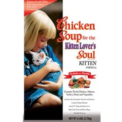 Chicken Soup for the Kitten Lover's Soul Dry Food, Chicken Formula, 15 Pound Bag