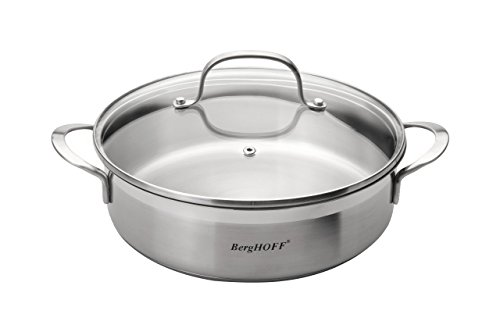 BergHOFF Bistro Double Handled Covered 9.5