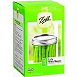 Ball Wide Mouth Lids and Bands - 12 pack